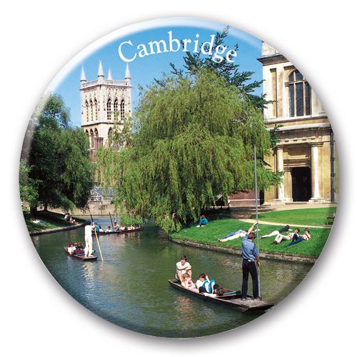 Magnet –Cambridge Round Ceramic