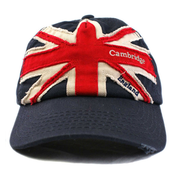 Cambridge Cap - Union Jack Distressed