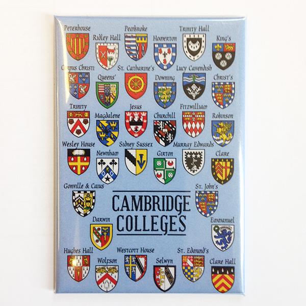 Magnet - College Crests (blue)