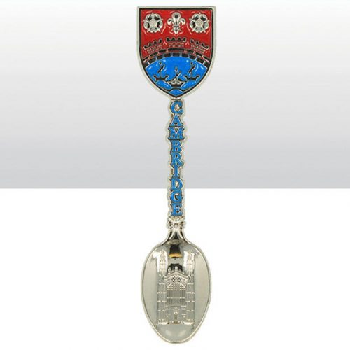teaspoon with Cambridge city coat of arms