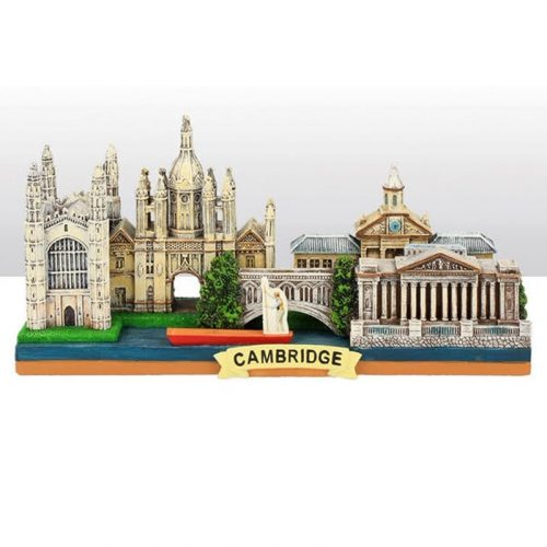 a large resin model of Cambridge scenes