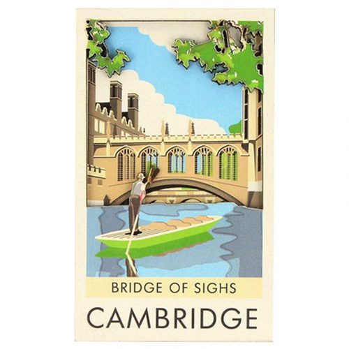 Contemporary Bridge of Sighs magnet