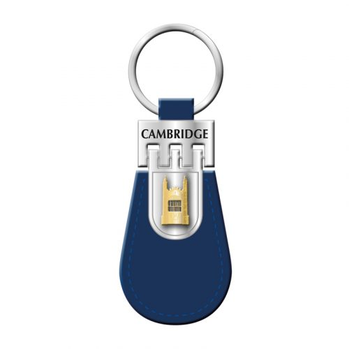 Key ring with leather kings college