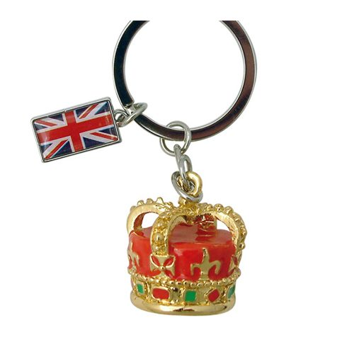 Keyring London Crown