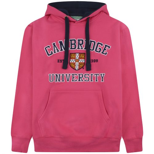 University-of-Cambridge-embroidered-hoodie-fuchsia
