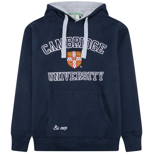 University of Cambridge Embroidered Hoodie - Navy