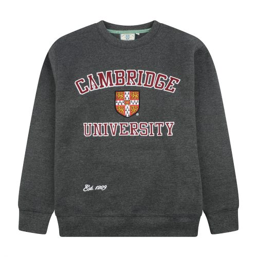 University of Cambridge Embroidered Sweatshirt - Charcoal