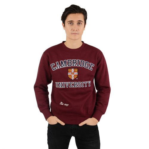 University-of-Cambridge-embroidered-sweatshirt-maroon