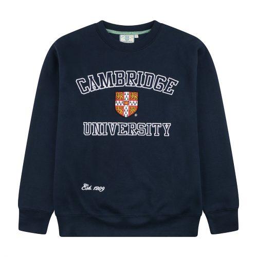 University of Cambridge Embroidered Sweatshirt - Navy