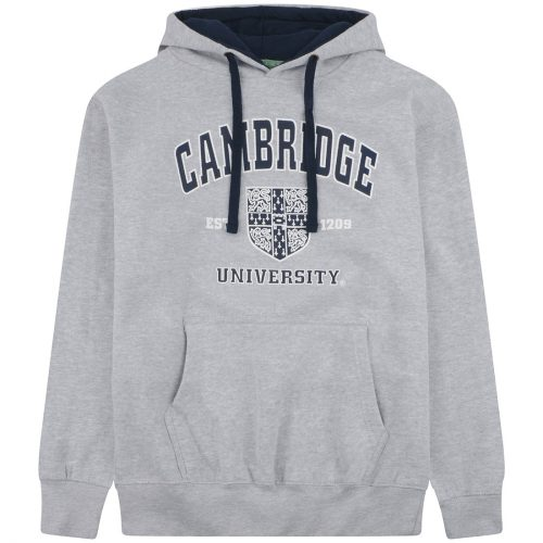 University of Cambridge Harvard Crest Printed Sweatshirt - Grey