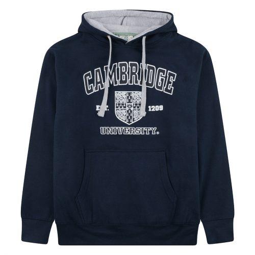 University of Cambridge Harvard Crest Printed Sweatshirt - Navy