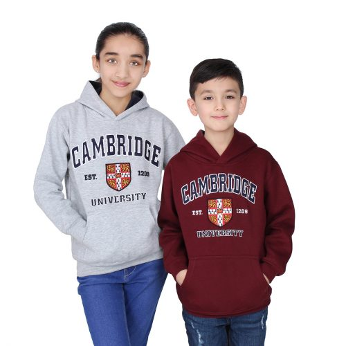 University-of-Cambridge-kids-embroidered-hoodies