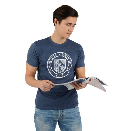 University-of-Cambridge-round-crest-printed-tshirt-navy-marl
