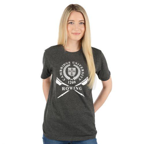 University of Cambridge Rowing Printed T-Shirt