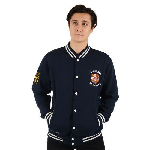 University of Cambridge Varsity Jacket - Navy