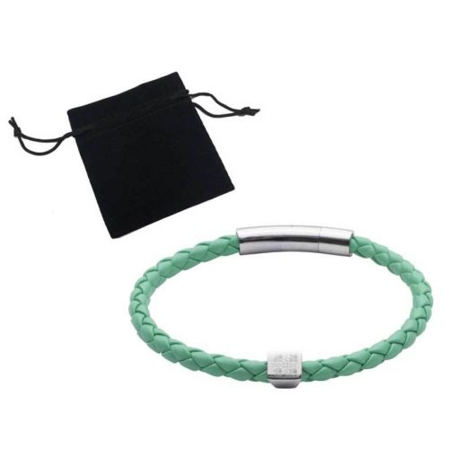 Elizabeth Parker Leather Bracelet - Blue