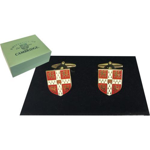 Elizabeth Parker Cufflinks - University Crest Red