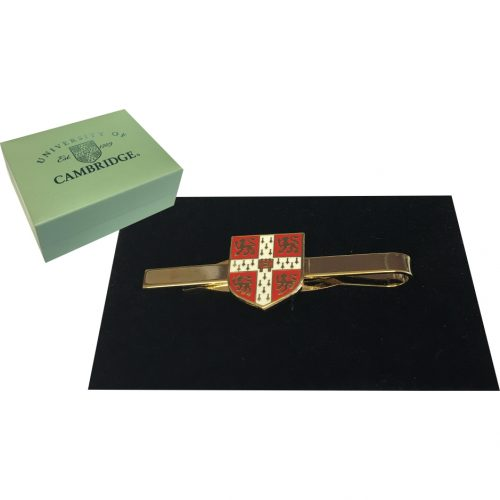 elizabeth-parker-University-of-Cambridge-red-crest-tie-bar