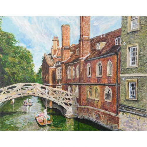 Emily Fowke Gift Card - Mathematical Bridge Queens College