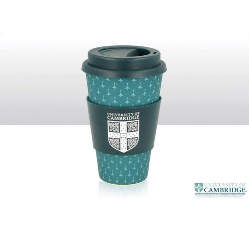 University bamboo fibre travel cup