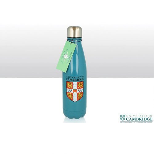University of Cambridge metal water bottle