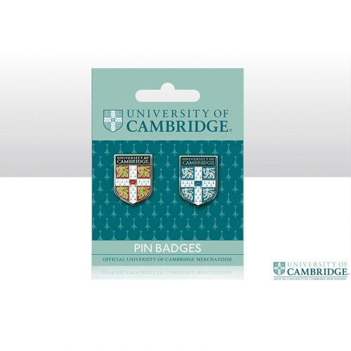 University of Cambridge pin badge double pack