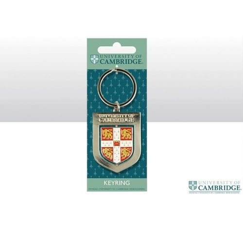 University of Cambridge shield spinning keyring