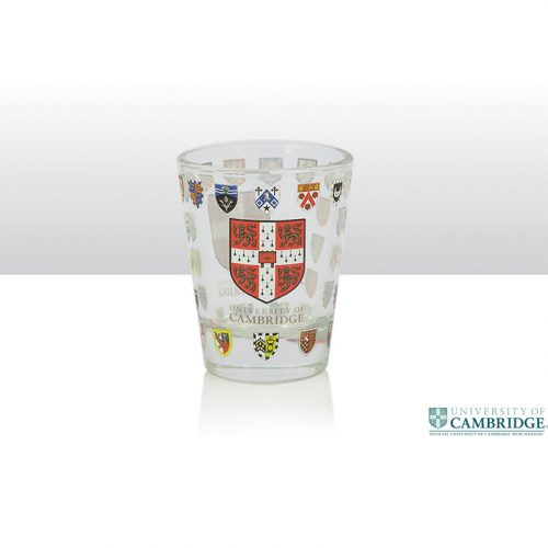 University of Cambridge shot glass single